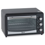 Avanti Products Toaster Oven, 4 Slice Capacity, Stainless Steel/Black