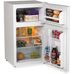 Avanti Products 2-Door Refrigerator, 3.1CF, 2.2CF Fridge, .9CF Freezer, WE