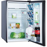 Avanti Products Refrigerator, 4.4CF Capacity Energy Star Compliant, Black