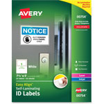 Avery Durable Self-Laminating ID Labels, Laser/Inkjet, 4 1/2 x 7, White, 25/Pack