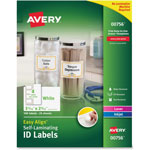 Avery Durable Self-Laminating ID Labels, Laser/Inkjet, 2 x 3, White, 100/Pack