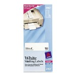 "Avery Laser Labels, Address, 1 1/3""x4"", 150 Ct, White"