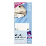 "Avery Laser Labels, Shipping, 2""x4"", 100 Ct, White"