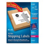 "Avery Laser Labels, Full Sheet, 8 1/2""x11"", 100/BX, White"