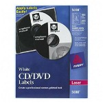 Avery CD Labels, Laser, 100/Pack, White
