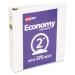 "Avery Economy 2"" View Binder, White"