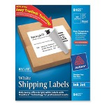 "Avery Ink Jet Labels, Full Sheet, 8-1/2""x11"", 100/Box, White"