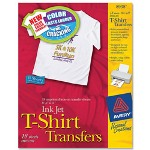 "Avery Iron On T Shirt Transfers, 18 Transfers, 8 1/2""x11"""
