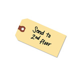 "Avery Manila Shipping Tags, 3 1/4""x1 5/8"", Unstrung, 1,000 per Pack"