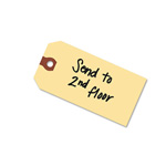 "Avery Manila Shipping Tags, 5 3/4""x2 7/8"", Unstrung, 1,000 per Pack"