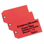 Avery Colored Shipping Tags, 4 3/4 x 2 3/8, Unstrung, Red, 1,000 per Box