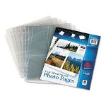 "Avery Photo Pages For Six 4"" x 6"" Mixed Format Photos, 3-Hole Punched"
