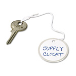 "Avery Metal Rim White Marking Tags, Strung with White Twine, 1 9/16"" meter, 500 per Pack"