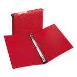 "Avery Hanging File Poly Ring Binder, 1"" Capacity, Red"