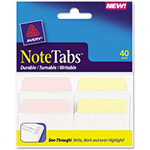 "Avery NoteTabs-Notes, Tabs And Flags In One, 2""x1 1/2"", Multicolor, 40 per Pack"
