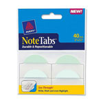 "Avery NoteTabs-Notes, 2"" Tabs And Flags In One, Pastel Blue/Green"