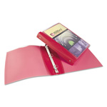 "Avery Silhouette 1"" View Binder, Red"