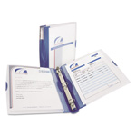 "Avery Silhouette 1"" View Binder, Blue"