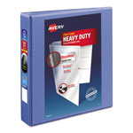"Avery Heavy Duty Nonstick View Binder w/Locking 1 Touch EZD Rings, 1 1/2"", Periwinkle"