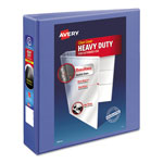 "Avery Heavy Duty Nonstick View Binder w/Locking 1 Touch EZD Rings, 2"" Cap., Periwinkle"