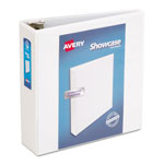"Avery Showcase 3"" View Binder, White"