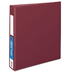 "Avery Heavy-Duty Binder with One Touch EZD Rings, 1 1/2"" Capacity, Maroon"