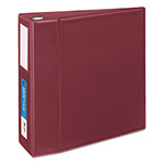 "Avery Heavy-Duty Binder with One Touch EZD Rings, 4"" Capacity, Maroon"