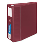 "Avery Heavy-Duty Binder with One Touch EZD Rings, 5"" Capacity, Maroon"