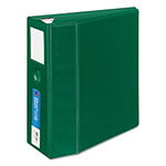 "Avery Heavy-Duty Binder with One Touch EZD Rings, 5"" Capacity, Green"