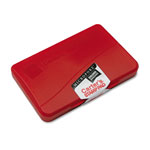 Avery Micropore Long Lasting Stamp Pad, 2-3/4 x 4-1/4, Red Ink