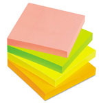 Avery Perforated Sticky Notes, 3 x 3, 90 Sheets, Bright, 12/Pack