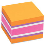 "Avery Sticky Note Cubes, 2"" x 2"", 400 Sheets/Cube, 3/PK, BrightAssorted"