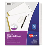 Avery Write On™ Index Tabs, White