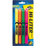 Avery Pen Highlighter, Chisel Tip, Fluorescent Yellow, Pack of 2