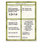 "Avery Cottage Dry Erase Sheet, 8"" x 11"", Multi"