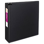 "Avery Durable Binder with Slant Rings, Polypropylene, 11 x 8 1/2, 3"", Black"