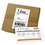 Avery Shipping Labels with Paper Receipt Bulk Pack, 5 1/16 x 7 5/8 , White, 500/Box