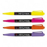 Avery EverBold Pen Style Highlighters, Four Color Fluorescent Set