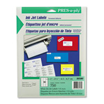 "Avery Pres-A-Ply Inkjet Address Labels, 1""x2 5/8"", White, 750 per Pack"