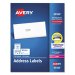 "Avery White Mailing Laser Labels, 1"" x 2 5/8"""