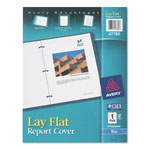 Avery Lay Flat Report Cover, Blue, Each