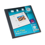 Avery Lay Flat Report Cover, Gray, Each