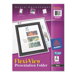 Avery Flexi View Report Cover, Black, Pack of 2