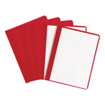 Avery Durable Report Cover, Red, Box of 25