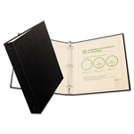 "Avery 100% Recycled EZ Turn Rings Binder, 1"" Capacity, Black"