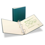 "Avery 100% Recycled EZ Turn Rings Binder, 2"" Capacity, Green"