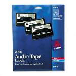 Avery Audio Cassette Tape Labels for Laser/Ink Jet Printer, 300 per Box
