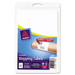 "Avery Shipping, 3""x4"", 40 per Pack, White"