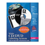 Avery CD/DVD Design Kit, 40 Matte Labels & 10 Inserts for Laser Printer