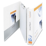 "Avery Portfolio 1 1/2"" View Binder, White"